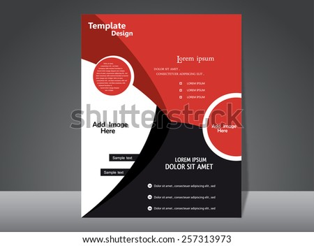 Template Design - stock vector
