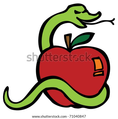 Temptation - stock vector