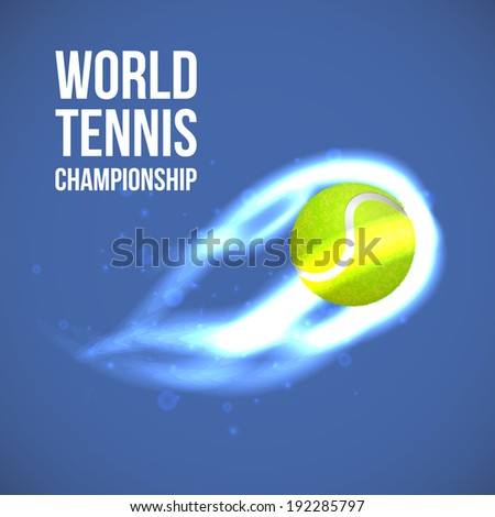 Tennis Ball. Vector - stock vector
