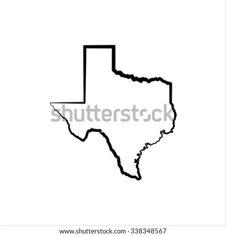 Texas - stock vector