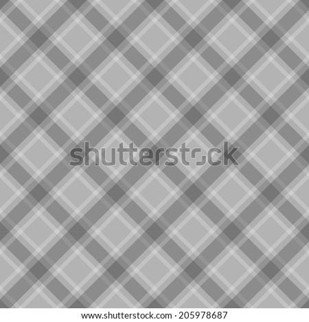 Textured vector plaid pattern background - stock vector