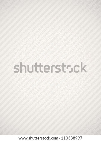 Textured white background paper with stripe. - stock vector