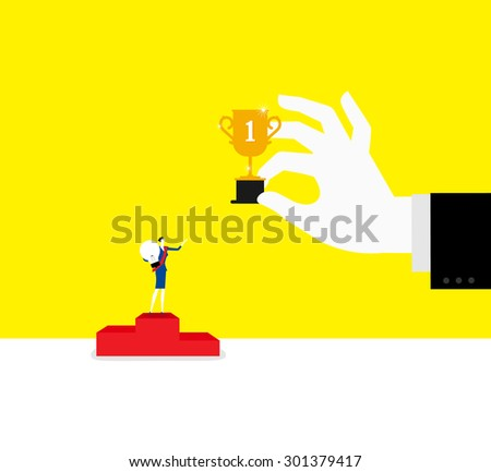 The best one - stock vector
