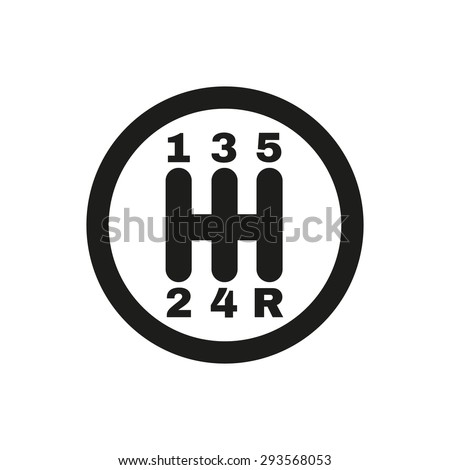 Car Transmission Vector Car And Transmission Symbol
