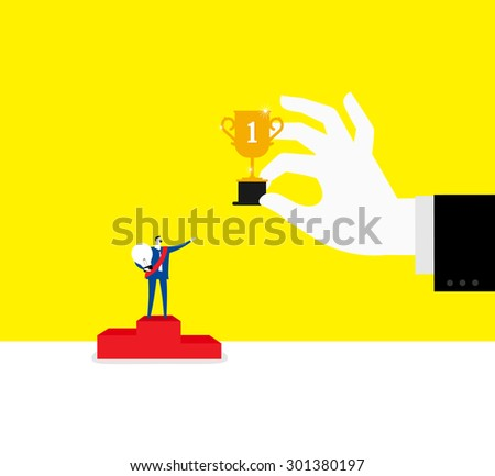 The top one - stock vector