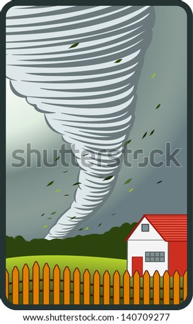 The Weather Series 1- Tornado EPS 10 - stock vector