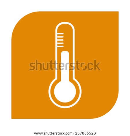 Thermometer icon.  - stock vector