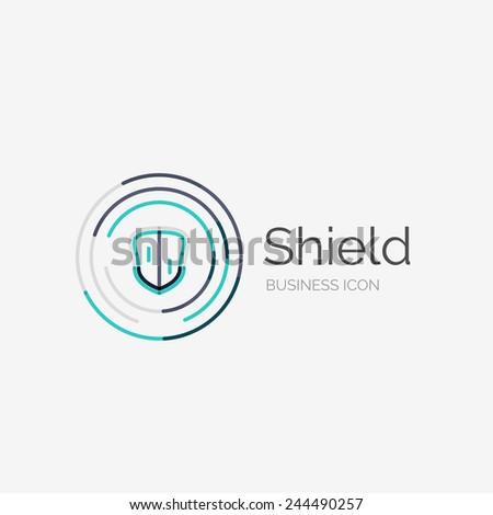 shields logo design