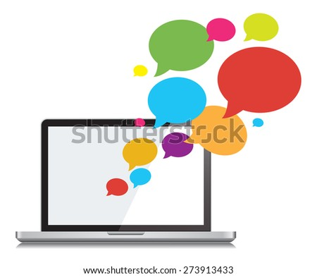 This image is a vector file representing a Chat Social Networking and Communication Vector Design Illustration./Chat Social and Communication Vector/Chat Social Networking and Communication Vector - stock vector