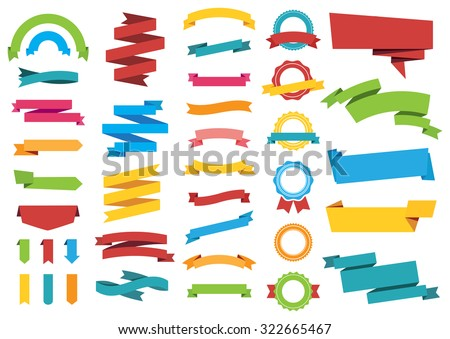 This image is a vector file representing Labels Stickers Banners Tags Banners vector design collection./Labels Stickers Banners Tags Banners/Labels Stickers Banners Tags Banners - stock vector
