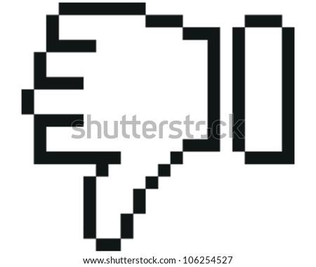 Thumbs - stock vector