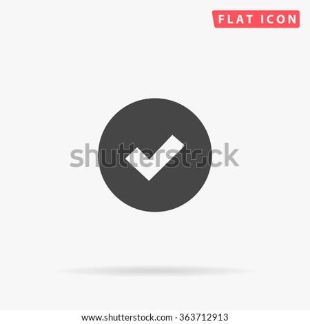 Tick Icon.  - stock vector
