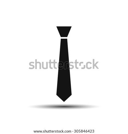 tie icon - stock vector