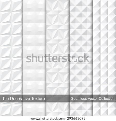 Tile texture - seamless. Vector collection. - stock vector