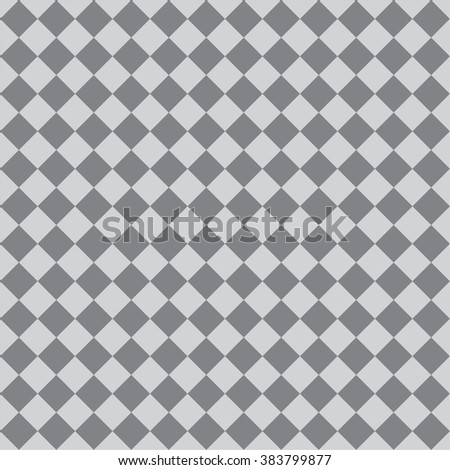 Tile vector pattern with grey floor background for decoration wallpaper - stock vector