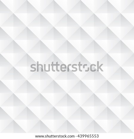Tileable recurring creative design techno textural fond consisting of unit plastic cells. Trendy art prominent multifaceted extruded style convex template surface - stock vector