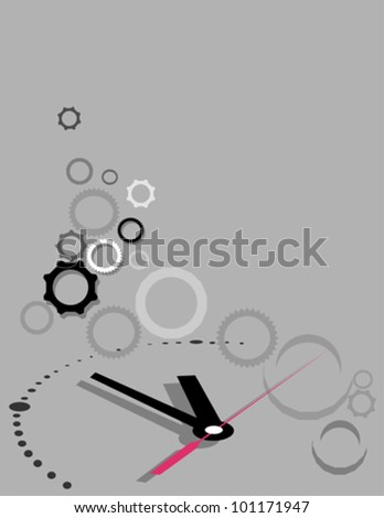 Time Concept - stock vector