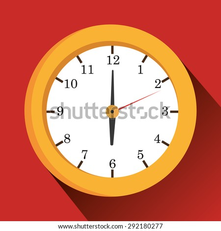 Time digital design, vector illustration eps 10. - stock vector