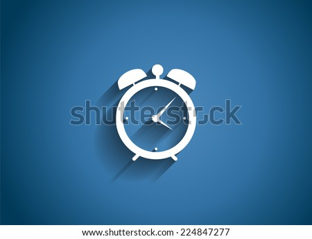 Time Glossy Icon Vector Illustration EPS10 - stock vector