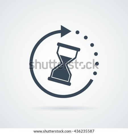 Time icon, Time icon eps10, Time icon vector, Time icon eps, Time icon jpg, Time icon picture, Time icon flat, Time icon app, Time icon web, Time icon art, Time icon, Time icon object, Time icon UI - stock vector