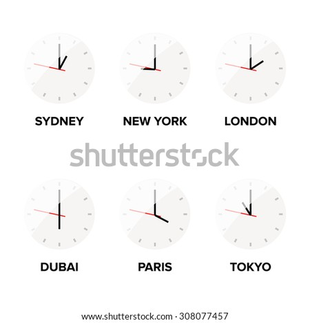 Time zone difference