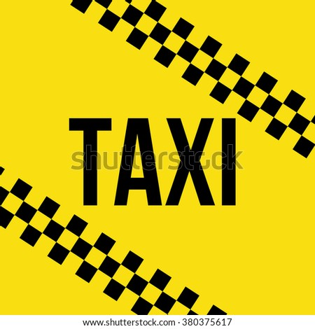 tires stamps that looks like taxi squares - stock vector