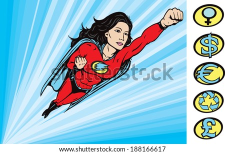 To the Rescue - stock vector