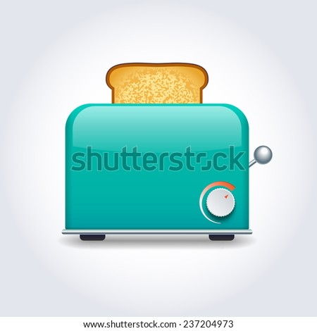 Toaster - stock vector