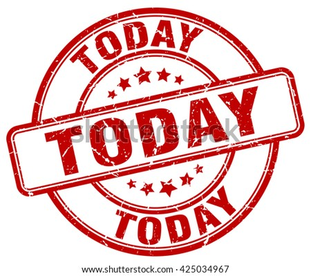 today red grunge round vintage rubber stamp.today stamp.today round stamp.today grunge stamp.today.today vintage stamp. - stock vector
