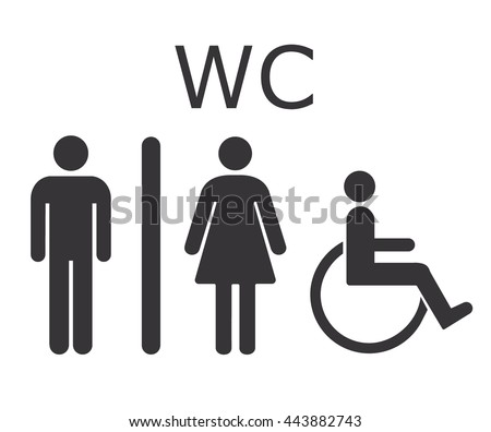 Restroom Sign Stock Photos Images Pictures Shutterstock