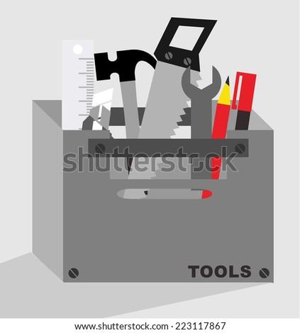 TOOLS - stock vector