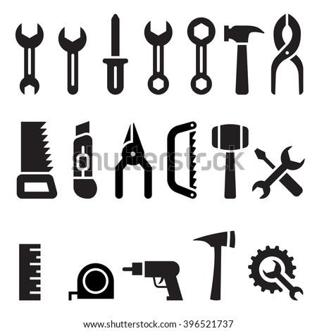 Tools icon - stock vector