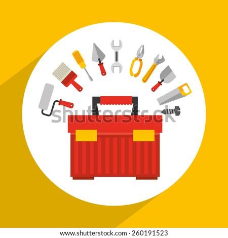 tools icon design, vector illustration eps10 graphic  - stock vector