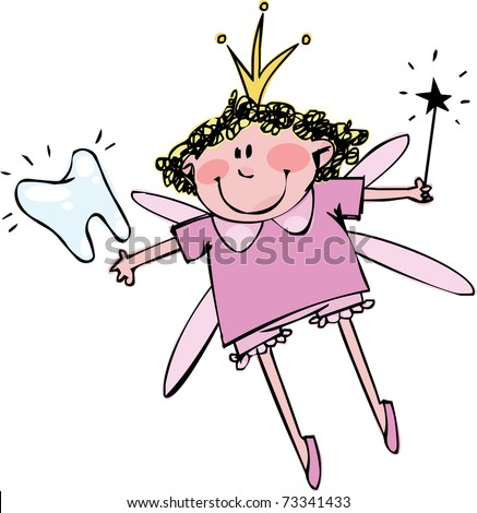 Tooth Fairy - stock vector