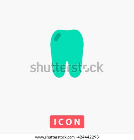 Tooth Icon Vector. Tooth Icon Logo. Tooth Icon Object. Tooth Icon Picture. Tooth Icon Image. Tooth Icon Graphic. Tooth Icon Art. Tooth Icon UI. Tooth Icon EPS. Tooth Icon AI. Tooth Icon Drawing - stock vector