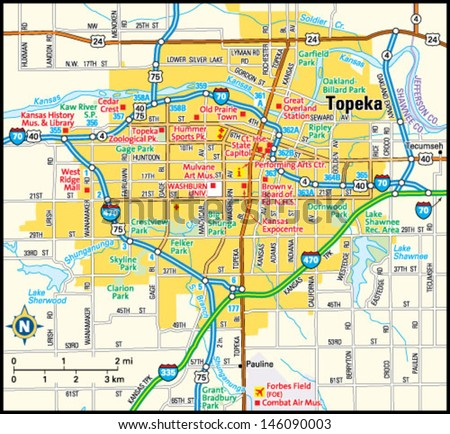 Topeka Stock Photos Images Amp Pictures  Shutterstock