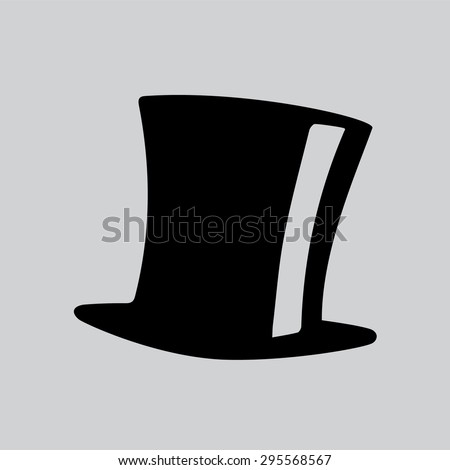 Tophat Vector Icon - stock vector