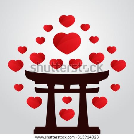 Torii Stock Vectors & Vector Clip Art | Shutterstock