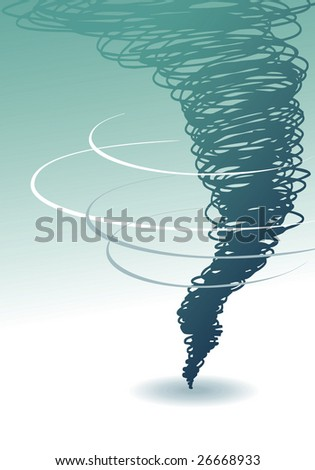 Tornado - stock vector
