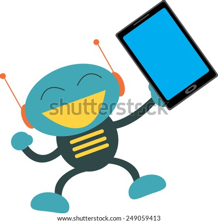 Touch Screen - stock vector