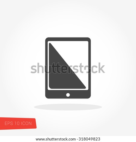 Touchscreen Icon / Touchscreen Icon Vector / Touchscreen Icon Graphic / Touchscreen Icon Art / Touchscreen Icon JPG / Touchscreen Icon JPEG / Touchscreen Icon EPS / Touchscreen Icon AI - stock vector