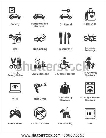 Tourism & Travel Icons - Set 3  - stock vector