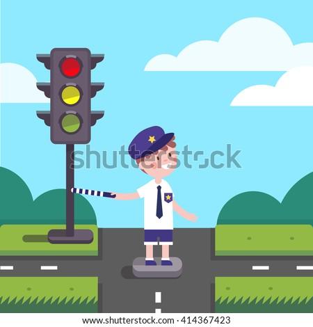 Cop Checking Black Kid