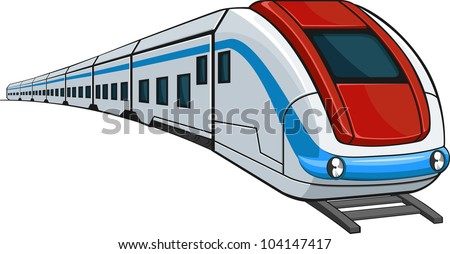 Train - stock vector
