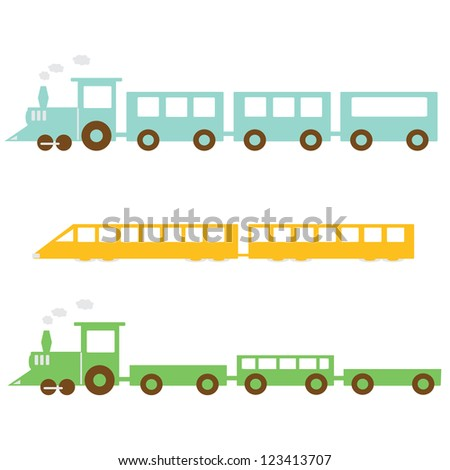 Train - stock vector