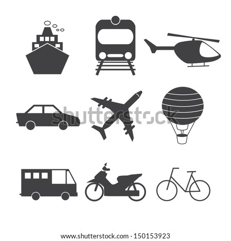 Transportation Icon.Vector EPS 10 - stock vector
