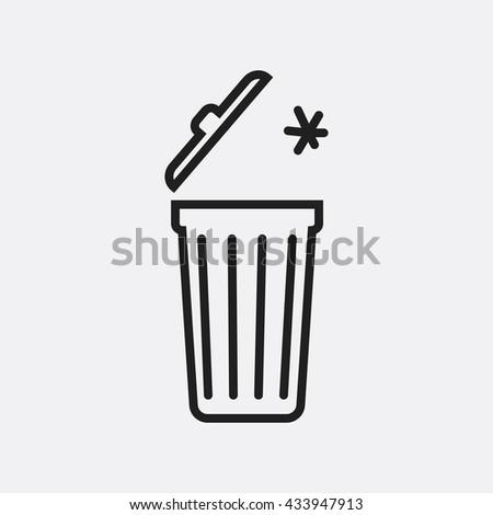Trash Icon, Trash Icon Eps10, Trash Icon Vector, Trash Icon Eps, Trash Icon Jpg, Trash Icon, Trash Icon Flat, Trash Icon App, Trash Icon Web, Trash Icon Art, Trash Icon, Trash Icon, Trash Icon Flat - stock vector