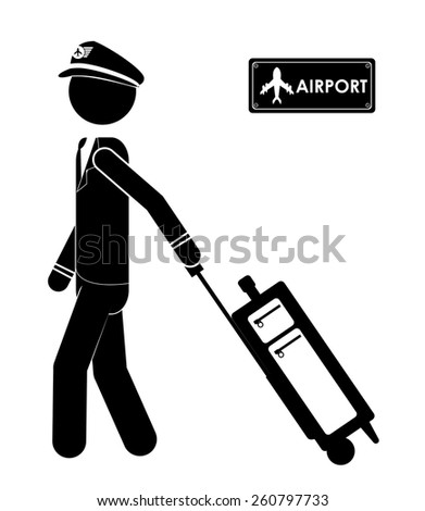 Travel icon design, vector illustration over white background - stock vector