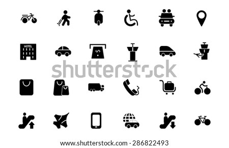 Travel Vector Icons 4  - stock vector