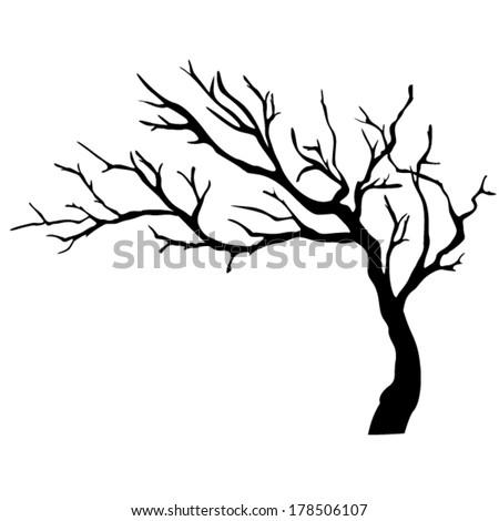 tree isolated - stock vector